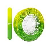 TOPZEAL filamento de impresora 3D, filamento PLA 1.75mm, color cambiado por la...