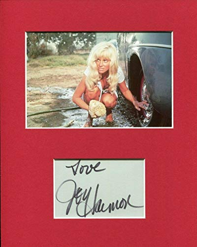 Joy Harmon Sexy Cool Hand Luke Rare Signed Autograph Photo Display - Theater Plaques and Collages
