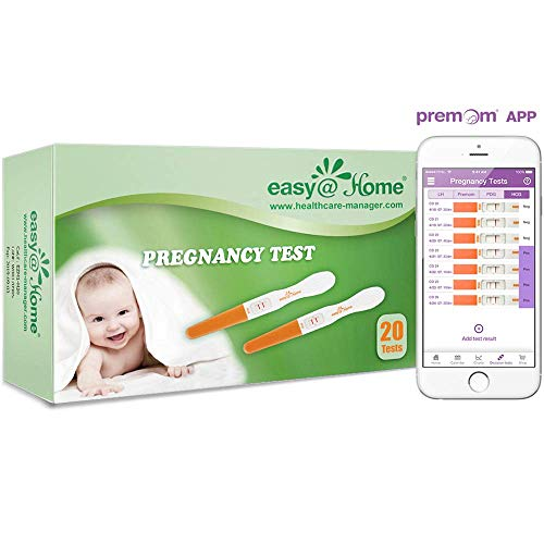 Find Bargain Easy@Home Early Pregnancy Tests, 20-Pack HCG Midstream Tests, FSA Eligible, Powered by ...