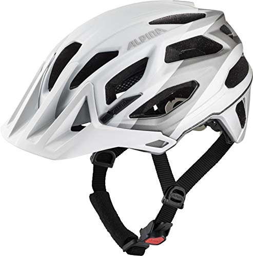 ALPINA GARBANZO, Caschi da Ciclismo Unisex-Adult, White-Grey, 57-61