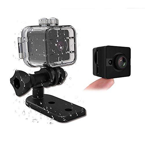 YAMEIJIA Waterdichte mini-camera SQ12 HD Sport Action Camera Nachtzicht Camcorder 1080P DV Video Recorder Infrarood Auto DVR Camera Bewegingsherkenning voor fiets motorfiets Ski duiken snorkelen