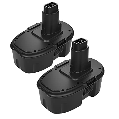 2 Pack 3.8Ah 18V DC9098 DC9096 Replacement Battery Compatible with Dewalt 18 Volt Battery XRP DC9099 DW9099 DW9098 DC9096 DC9098 Cordless Power Tools