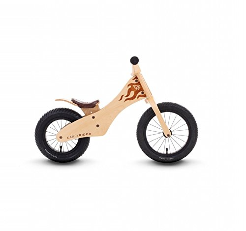 Bici sin pedales de madera natural Early Rider