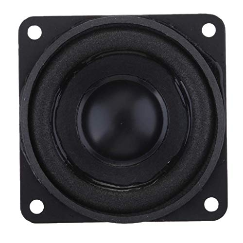 GaoF Altavoces Cuadrados Premium de 51 mm y 8 W Amplificadores de...