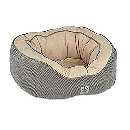 Precision Pet Daydreamer Gusset Bed, 32 by 25 by 10.5-Inch, Gray
