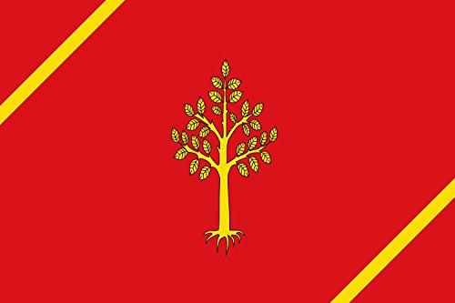 magFlags Bandera Large Juneda, Lérida, España | Bandera Paisaje | 1.35m² | 90x150cm