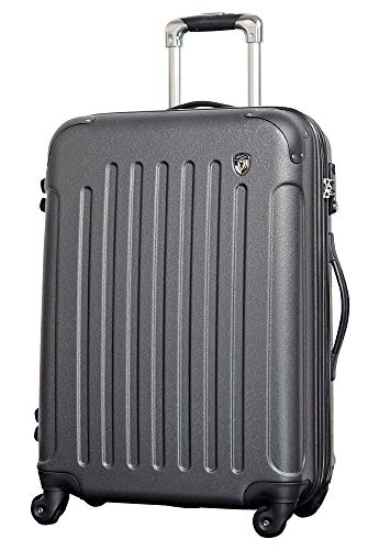 SS 【マットB】 グレー / newFK10371 スーツケース キャリーバッグ 軽量 TSAロック 超軽量 機内持込 (1〜3日用) マット加工 ファスナー開閉タイプ