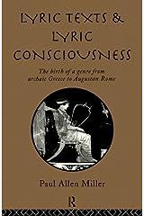 Lyric Texts & Consciousness Kindle Edition