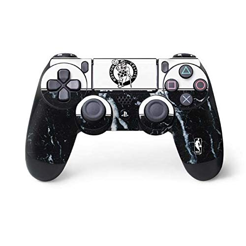 Skinit Decal Gaming Skin for PS4 Controller - Officially Licensed NBA Boston Celtics Marble Design