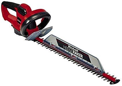 Einhell GC-EH 5550/1 - Cortasetos eléctrico 550 W (longitud de corte: 500mm, longitud de la hoja: 560mm, espacio entre dientes: 26mm, Corte por minuto: 2800 min-1) (ref. 3403310)