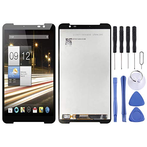 DAIQIPA Smartphone disassembly LCD Screen and Digitizer Full Assembly, Fit for Acer Iconia Parlare S A1 724 A1-724(Black) (Color : Black)