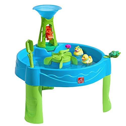 Step2 Duck Dive Water Table | Kids Water Table with Water Tower & 5-Pc Accessory Set, Multicolor, Basic