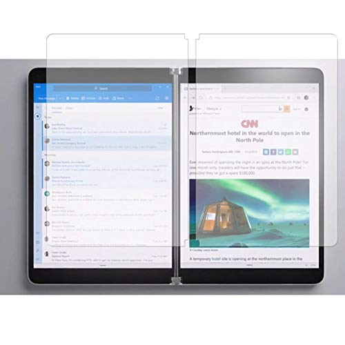 Vaxson 3 Unidades Protector de Pantalla, compatible con Microsoft Surface Neo 9' [No Vidrio Templado] TPU Película Protectora