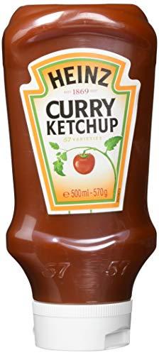 Heinz Curry Ketchup USD, 4er Pack (4 x 500 ml)