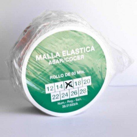 alesframa Malla elástica para Carne, Rollo de 50 Metros (Calibre 16)