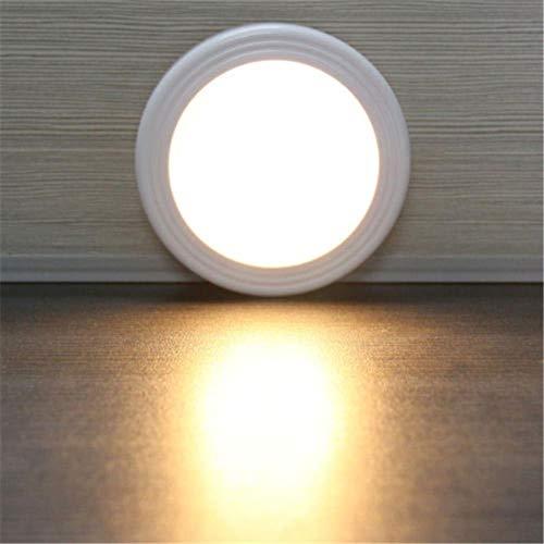 6 LED-licht lamp PIR auto sensor bewegingsmelder draadloze infrarood gebruik binnenshuis indoor kasten/kasten/laden/trappenhuis