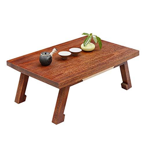 Table Ensembles de et chaises Basse Basse Multifonctionnelle De Tatami De Ménage Balcon Baie Vitrée Petite Chambre Bureau Cadeau (Color : Brown, Size : 80 * 50 * 30cm)
