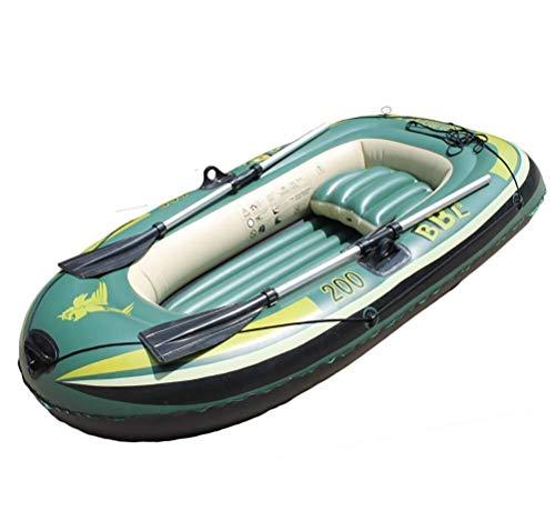 Challenger Kayak Island Voyage - Aufblasbares 2-Personen-Kajakset Mit Schlauchboot, Leistungsstarker Luftpumpe Und Zwei Aluminiumrudern - Angler- Und Freizeit-Angelkajak