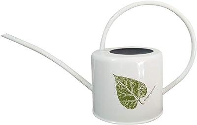 Asvert Long Spout Watering Can Pot, Rustic Retro Textured Gardening Tools 1.7Liter (White Heart Shape)