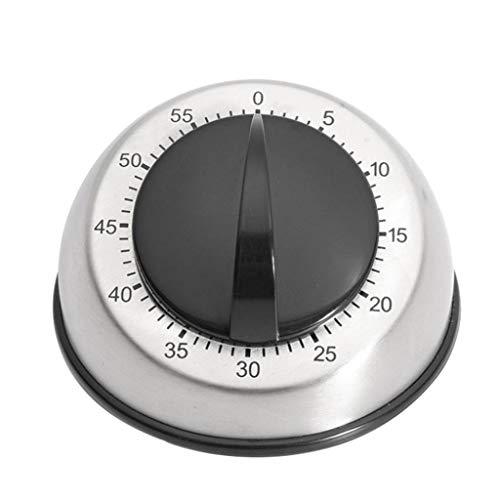 HOT!Liusdh Tischuhren Wecker Wanduhren Langer Klingelalarm Lauter 60-minütiger Küchen-Wind-up-Timer Mechanisch