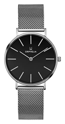 ORPHELIA Herren Analog Quarz Uhr mit Edelstahl Armband OR62808