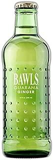 Bawls Guarana Energy Drinks 6-10oz Glass Bottles (Ginger)