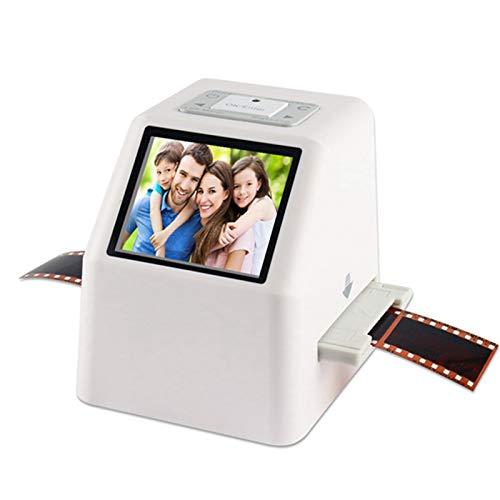DZSF Alta Resolución 22 MP Negativo de 35mm Film Scanner 110 135 126KPK Super 8 película de la Diapositiva del escáner fotográfico de la película convertidor Digital LCD de 2.4