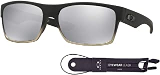 Twoface OO9189 Sunglasses For Men+BUNDLE with Oakley Accessory Leash Kit