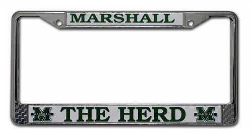 Unbekannt NCAA Chrome Teller Rahmen, Marshall Thundering Herd