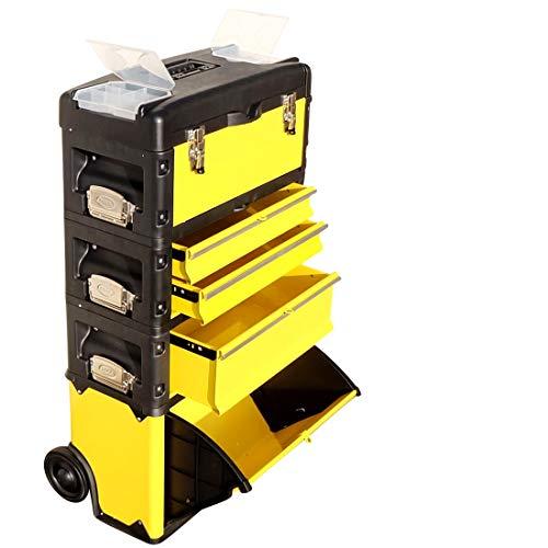 AS-S Carrello porta attrezzi XL Tipo B305ABCD ora con il fermo cassetto e serratura