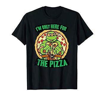 Teenage Mutant Ninja Turtles Here for Pizza T-shirt T-Shirt
