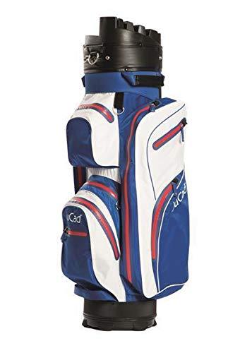 JuCad Bag Manager Dry Wasserdichtes, federleichtes Bag mit Organizer blau-weiß-rot
