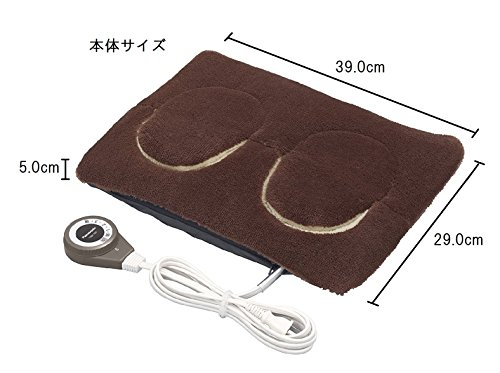 パナソニック足温器マイクロファイバータイプブラウンDF-SAC30-T