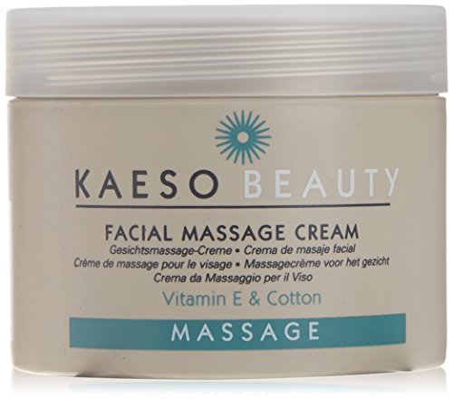 Kaeso Facial Massage Cream - Vitamin E & Cotton (450ml)