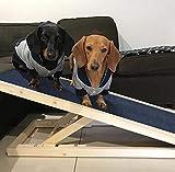 The Fellie Dog Ramp Pet Ladder Car Dog Ladder Height Adjustable with Non-slip