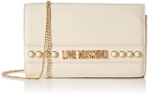 Love Moschino SS21, Bandolera para Mujer, Bianco, Normal
