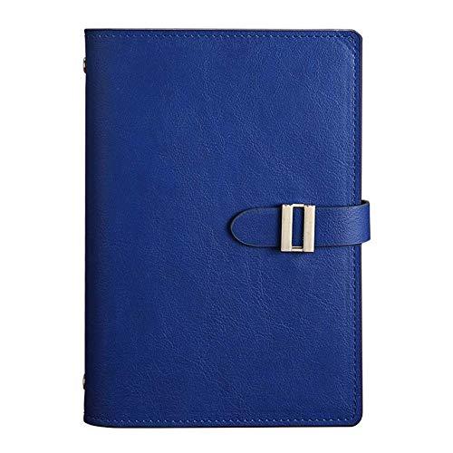 Mejor B5 Cuaderno Borrable con Bolígrafo con Inteligente Reutilizable de Diario Portátil A5 Cuaderno de Tapa Dura Cuaderno de Hojas Libro 13.5 * 19cm Hermoso (Color : Blue)