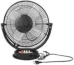 """Fancy Table Fan All Purpose Fan with 5""""Motor"""" (Black)"""