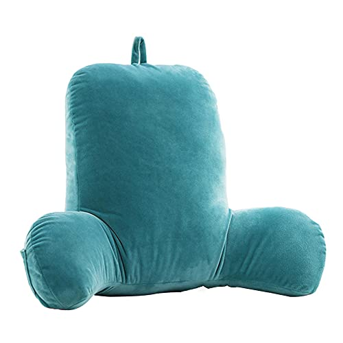 Lettura / tampone del cuscino della TV Grande cuscinetto di cotone cavo per rilassarsi la parte posteriore del collo-Verde