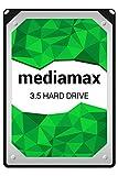 Mediamax 3.5' (8,9 cm) interne Festplatte 2TB HDD, SATA III, 6.0 Gb/s Cache 64MB, RPM: 7200 (U/min), 2000GB, WL2000GSA6472G, SATA Festplatte intern, Backup Festplatte für Desktop PCs, Gaming Computer