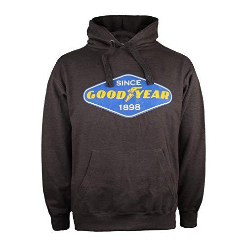 Goodyear Diamond Hoodie Sudadera con Capucha para Hombre