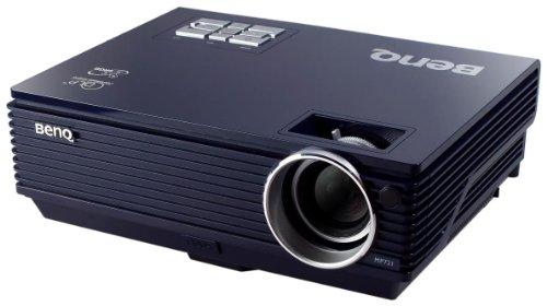 Benq MP 721 DLP-Projektor (Kontrast 2000:1, 2500 ANSI Lumen) schwarz