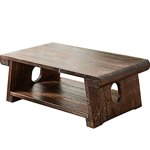 End Tables Mesa De Té Zen Mesa De Centro Mesa De Meditación De Estilo Japonés Tatami Mesa Decorativa Mesa De Cóctel Kotatsu (Size : 70x35x28cm)