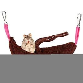 Hamster Bed Rat Hammocks Kitten Bed Guinea Pig Toys Ferret Hammocks Rabbit Bed Rat Cage Accessories Rat Bed Small Pet Bed Rat Hammocks For Cage