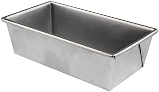 Chicago Metallic Commercial II Traditional Uncoated 1-Pound Loaf Pan - 49042