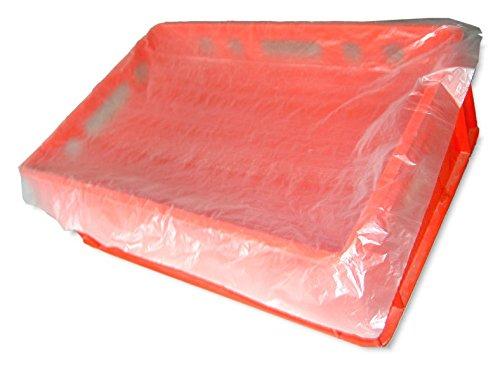500 Stück Fleischkistenbeutel, Eurofleischkisten-Säcke Einlegesäcke für E2 + E3 Kisten