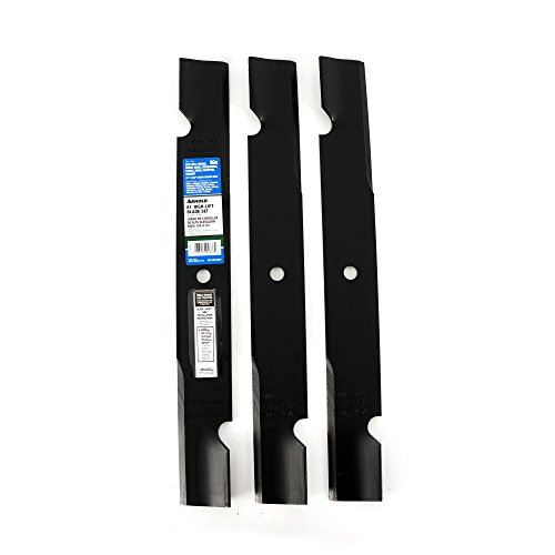 of blade set for lawns Arnold 61-Inch High-Lift Blade Set