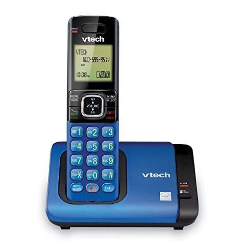 VTech CS6719-15 DECT 6.0 Phone with Caller ID/Call Waiting, 1 Cordless Handset, Blue