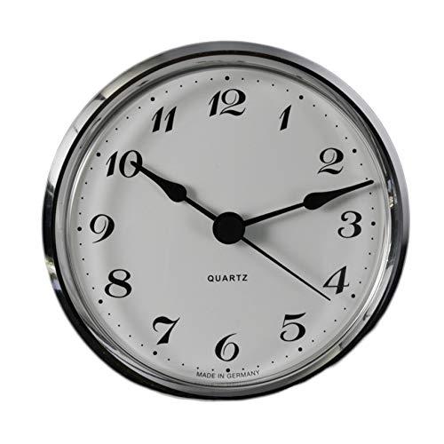 Cloxinelle Uhrwerk   Einsteckuhrwerk   Einbau-Uhr   Modellbau-Uhr   Quartz Uhrwerk   Ø 103 mm   Nr.8077