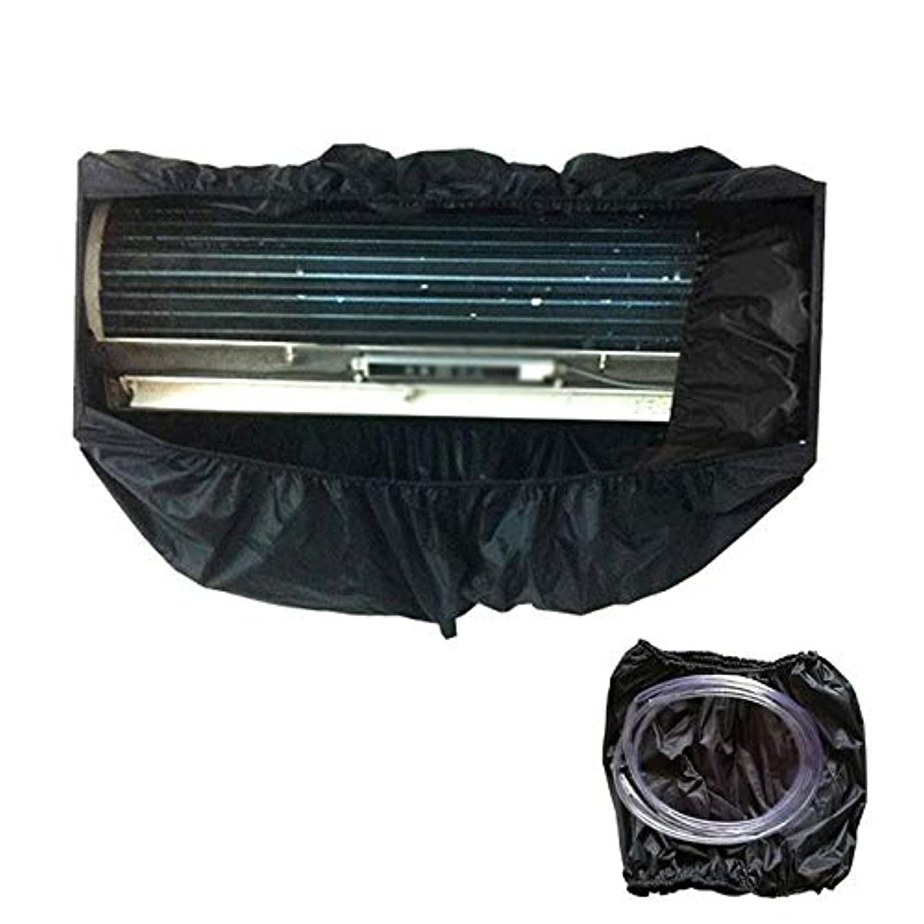 Yichener Black Air Conditioning Cleaning Bag Split Room Wall Mounted Air Conditioner Washing Cover for Air Conditioner